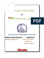 Copy of BATA Company Analysis