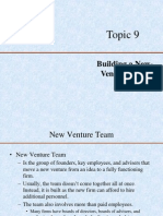 Lecture 9- New Venture Challenges