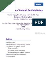 Balun Cicc07 Presentation