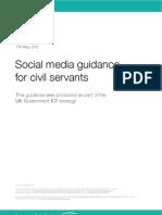 Social Media Guidance