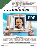 VARIEDADES_276 Especial Carlos Fuentes