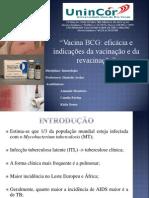 BCG- APRESENTAÇÃO DE IMUNOLOGIA