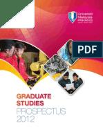 Ump Prospectus Graduate Studies 2012