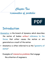 Kinematics of a Particle All