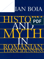 Boia, Lucian - History and Myth in Romanian Consciousness