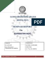 GIS Introduction & Basics Seminar Report