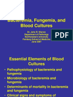 Bacteremia Fungemia, And Blood Cul Tures-V1