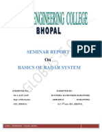 Radar :Radio Detection and Ranging Seminar report