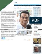 Regresarían las antialcohólicas con Felipe Enríquez -Elporvenir.com-