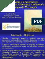 AgroecologiaeTransgênicos-Biosseguranca- Principais Precauções