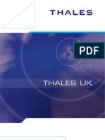 Thales UK Corporate Brochure 2011