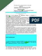 Acto Legislativo 01 Del 2005