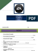 Training on Accounts