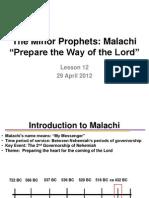 LSN 12 MALACHI