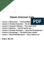Classic American Cults