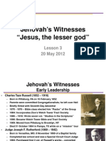Lsn 3 Jehovah's Witnesses