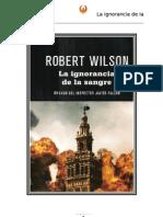Wilson Robert - Inspector Falcon 04 - La Ignorancia de La Sangre