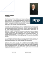Chief Executive Officer CEO Turnaround in San Diego CA Resume Robert Campbell