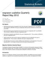 Migration Statistics Quarterly May 2012