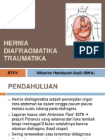 Hernia Diafragmatika Traumatika