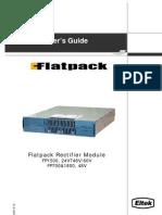 351400 013 UserGde Flatpack Rectifier Mod PDF[1]