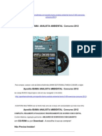 Apostila IBAMA  Analista Ambiental Concurso 2012