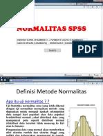 Normalitas SPSS