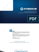 Authenticom Data Enhancement Solutions