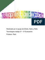 TRABAJO DE TECNOLOGÍAS DEL COCHE ELÉCTRICO