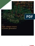 High Voltage Motors in Power Generation Sep09 LR