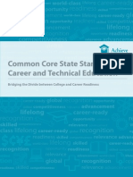 Common Core State Standards & Career and Technical Education
