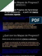 que son los mapas de progreso