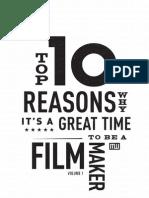 Top 10 Reasons Time Filmmaker