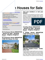 Brighton Houses for Sale