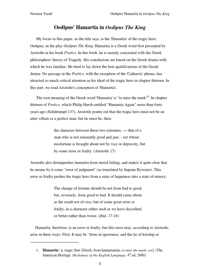 National Honor Society High School Essay  What Is The Thesis Of A Research Essay also Essay Topics For High School English Oedipus Hamartia  Theban Mythology  Ancient Thebes Boeotia Essays About English Language