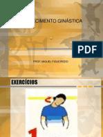 AQUECIMENTO AULAS GINÁSTICA