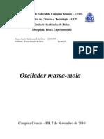 Oscilador massa-mola 2