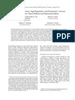 Parental Socialization, Vagal Regulation, and PreschoolersÔÇÖ Anxious