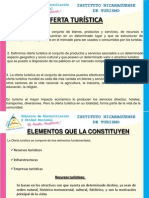 PRESENTACION DE CONCEPTO DE OFERTA TURÍSTICA