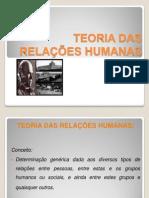 Trabalho - Escola das relações humanas