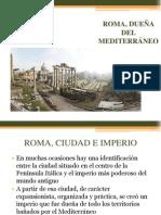 ROMA, DUEÑA DEL MEDITERRÁNEO