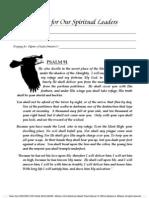 Prayer for Spiritual Leaders Web