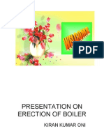 Erection of Boiler