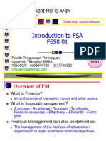 F658 122 01 Overview of FM FA