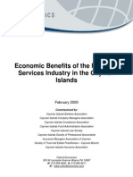Cayman Islands Financial Services Industry Economic Impact Study[1]