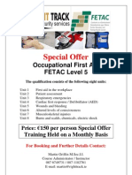 Occupational First Aid - Martin Griffin Poster