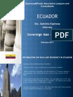 Gabriela Espinosa Ecuador