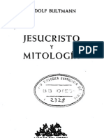 Bultmann, Rudolf - Jesucristo y La Mitologia