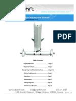 Bow Thruster Installation Instructions