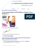 ¿Cómo puedo instalar el ZTE MF636 en Windows Vista o Windows 7_ _ Controladores Laptop Descargar